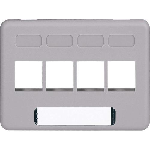 ICC 4-port NEMA Furniture Faceplate