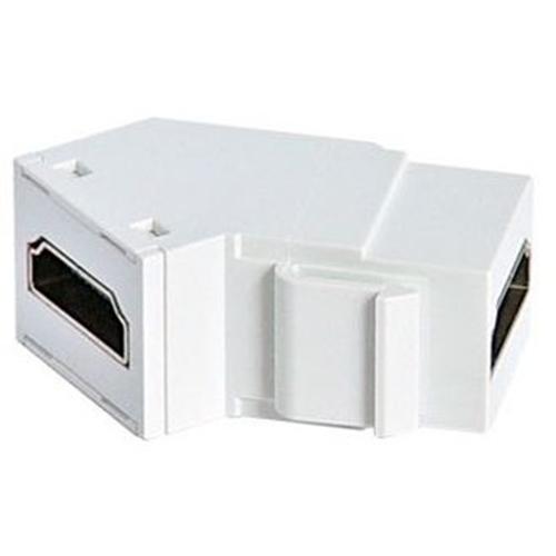 HDMI KEYSTONE INSERT IN WHITE