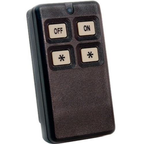 4 BUTTON TRANSMITTER WITH ON/OFF MODE