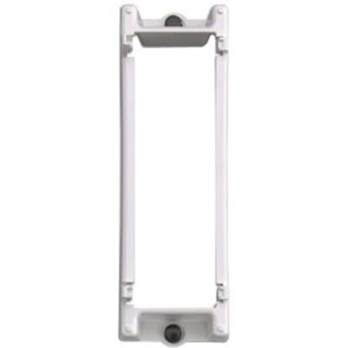 Leviton 47612-SBK Mounting Bracket for Structured Wiring Enclosure - White