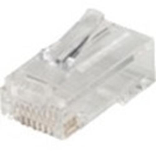EZ-RJ45 CONNECTORS, CLEAR, BAG OF 10