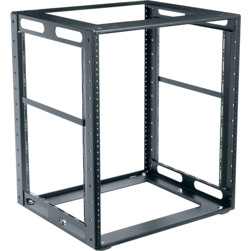 CABINET FRAME RACK 11 SPACES HIGH 18'DEEP