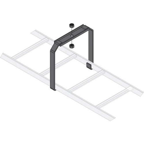 Middle Atlantic Mounting Bracket for Cable Ladder - Black
