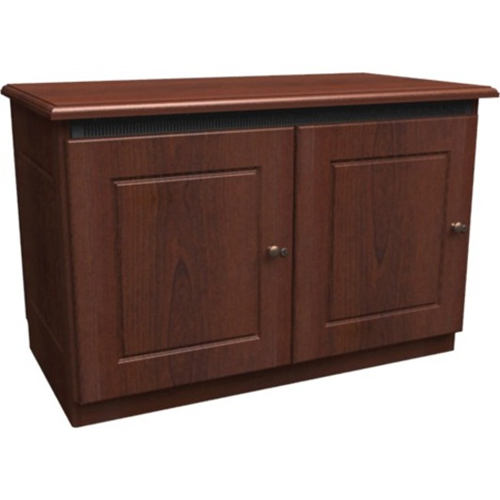 2-BAY C5 CREDENZA FINISHING KIT,AGED CHERRY,SOL.DR