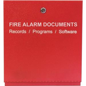FIRE ALARM STORAGE CABINET