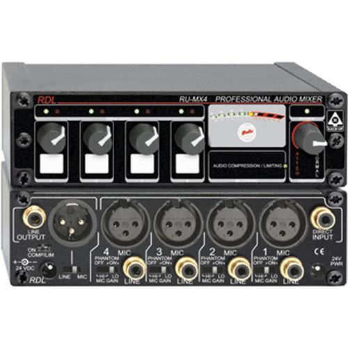 RDL RACK-UP RU-MX4 Audio Mixer