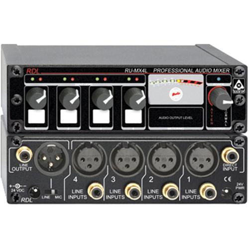 RDL RACK-UP RU-MX4L Audio Mixer