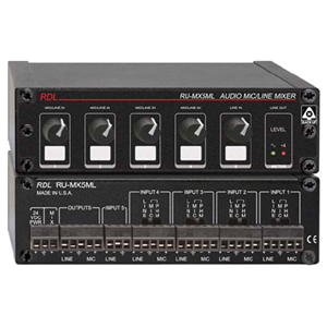 RDL (RU-MX5ML) Audio Mixer