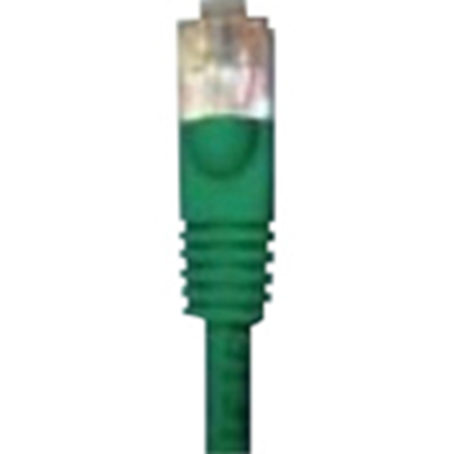 3' CAT5E MOLDED PATCH CORD GREEN