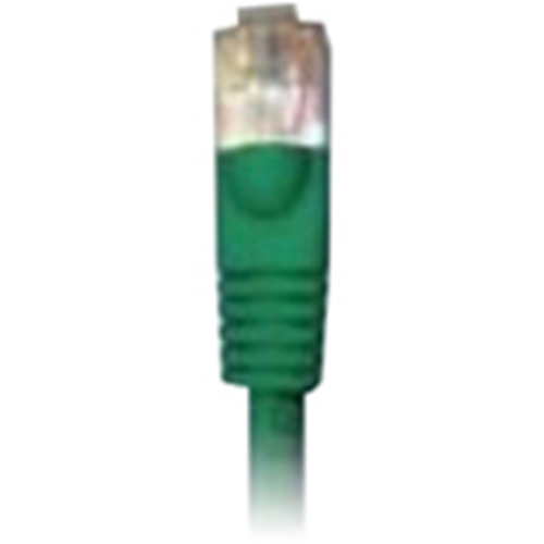 10' CAT5E MOLDED PATCH CORD GREEN