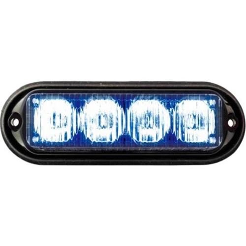 Seco-Larm LED Programmable Modular High-Intensity Flasher, Blue