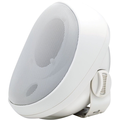 4'OUTDOOR SPEAKER W/TRANFORMER WHITE
