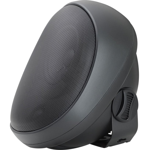 4'OUTDOOR SPEAKER WITH TRANSFORMER BLACK