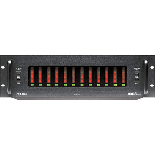 12CH PWR AMP PTM-1260 6ZONE
