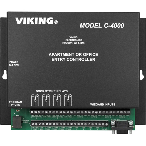 APARTMENT OFFICE ENTRY CONTROLLER