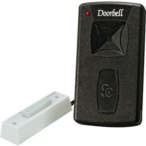 Silent Call Legacy Series Doorbell 318 MHz Transmitter with Remote Button (DB1003-2)