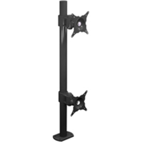 Winsted W6472 Pole Mount for Flat Panel Display - Black