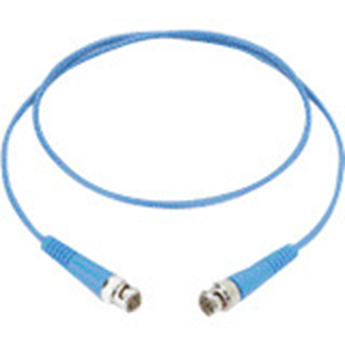 RG59 THREE FOOT PATCH CABLE WITH A BLUE JACKET