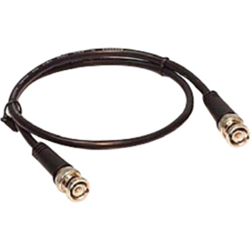 RG59 75 OHM BNC BLACK 3' PATCH CABLE