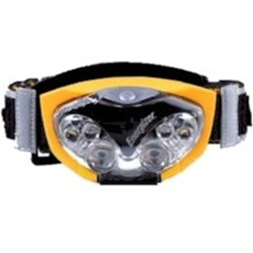 6 LED HEADLIGHT WITH ENERGIZER AAA BATTERIES