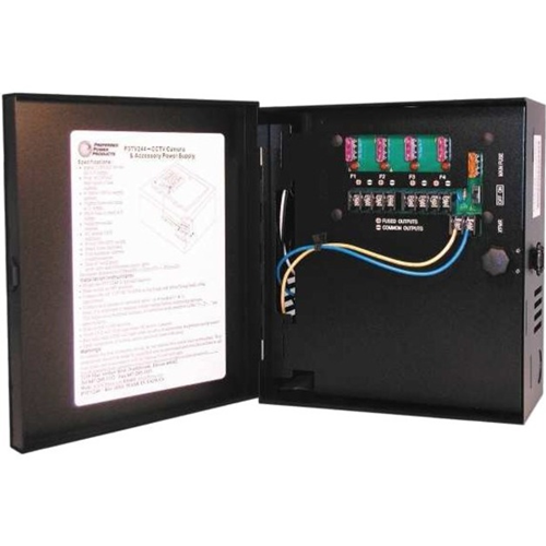 Preferred Power Products CCTV Power Supply - 12VDC, 4 Output, 3 Amps