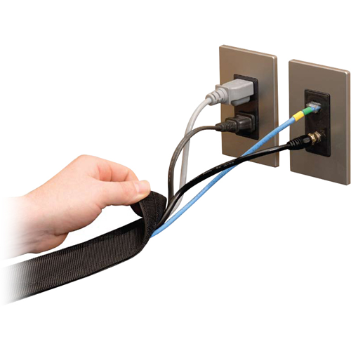 DURA-RACE,BLACK 3' CABLE PROTECTOR - 25'