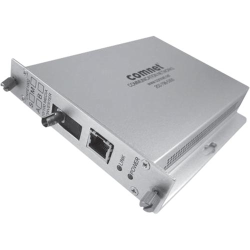 ComNet 10/100 Mbps Ethernet Electrical to Optical Media Converter
