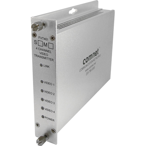 ComNet 4-Channel Video Transmitter (1310 nm)