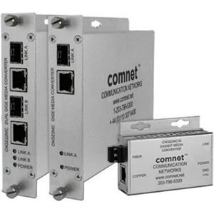 ComNet 4 Port (2 Channel) 10/100/1000 Mbps Ethernet Media Converter