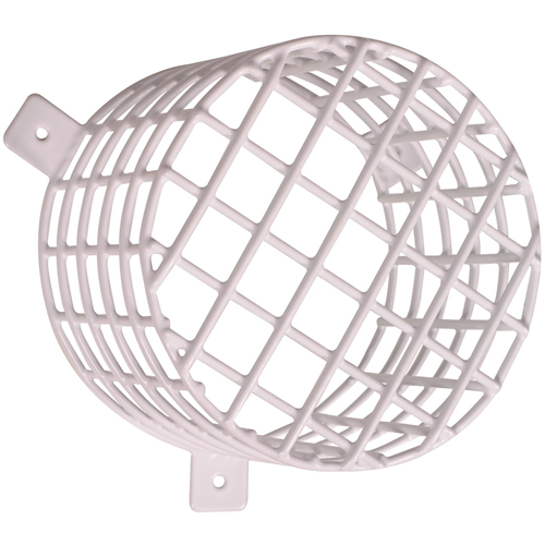 STI Beacon & Sounder Cage - Vandal Resistant, Damage Resistant - Steel - White