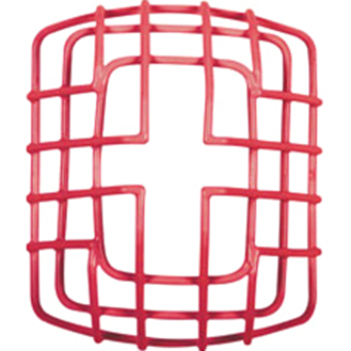 WALL MOUNT STROBE GUARD, RED