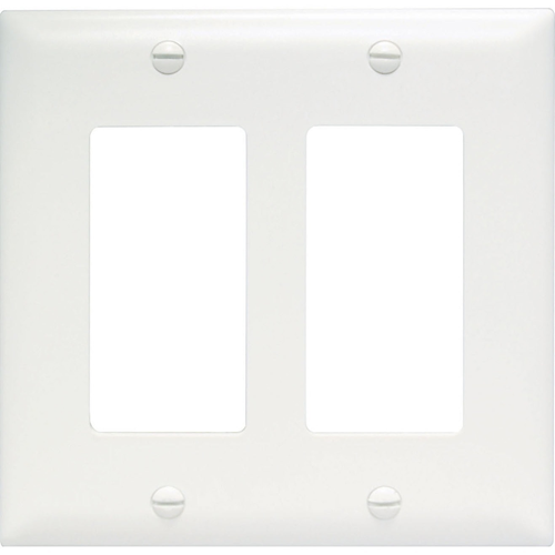 NEW TRADEMASTER PLATE 2G DEC WHITE