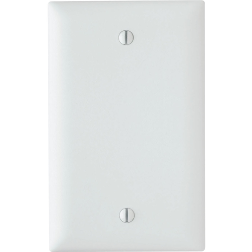 Pass & Seymour Trademaster 1-Gang Blank Wall Plate, White (M20)