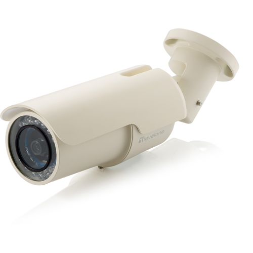 LevelOne H.264 2-Mega Pixel FCS-5051 10/100 Mbps PoE IP Network Camera w/IR (Day/Night/Outdoor)