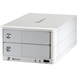 LevelOne NVR-0104 4-CH Network Video Recorder (Support only VGA Cameras)