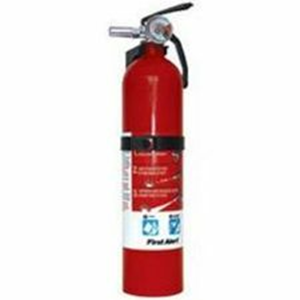 FIRE EXTINGUISHER, RED, 10-B:C, BRACKET