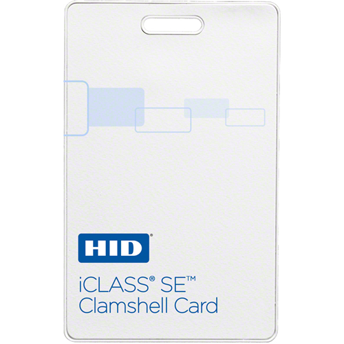 HID 3350 iCLASS SE Clamshell Card - 2K