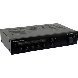 Bosch Plena PLE-1ME120-US Amplifier - 120 W RMS - 4 Channel - Charcoal