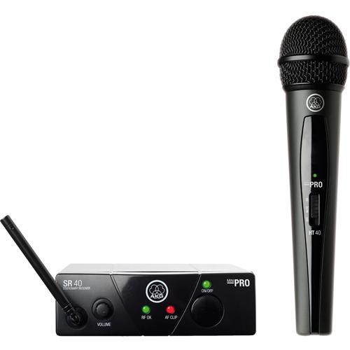 AKG WMS40 Mini Single Vocal Set
