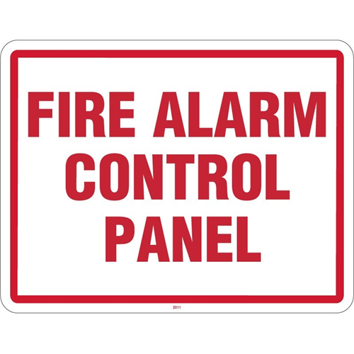 """Maxwell 11"""" x 8.5"""" Fire Panel Sign"""