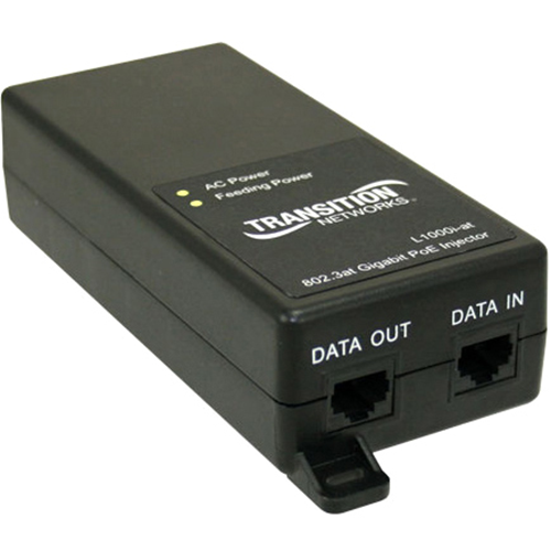 Transition Networks L1000i-at Power over Ethernet Plus Injector