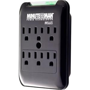 MMS660S 6OUT BLOCK UL1449 50K  SLIMLINE 15A 120V 1800W