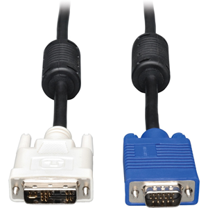 Tripp Lite DVI to VGA Monitor Cable, High Resolution cable with RGB Coax