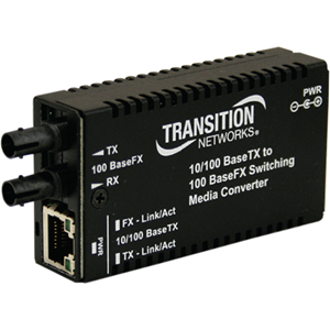 Transition Networks Mini M/E-PSW-FX-02 Media Converter