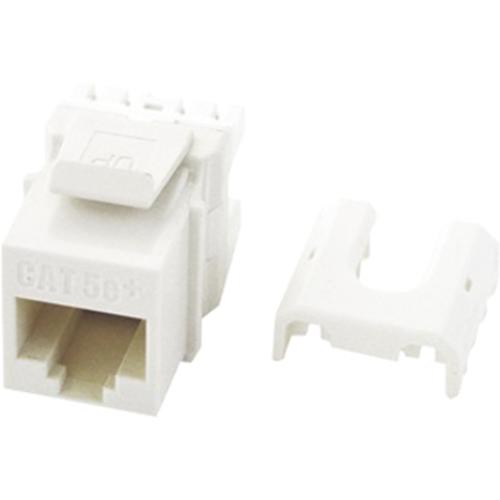 Legrand-On-Q Quick Connect Cat 5e RJ45 Keystone Insert, White, 50-Pack