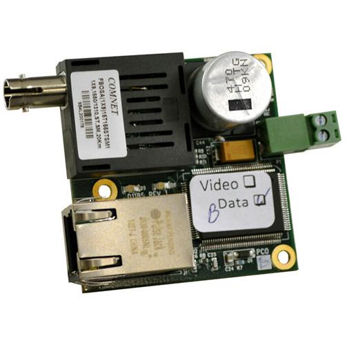 ComNet 10/100 Mbps Ethernet Electrical Optical Media Converter for Internal Mounting