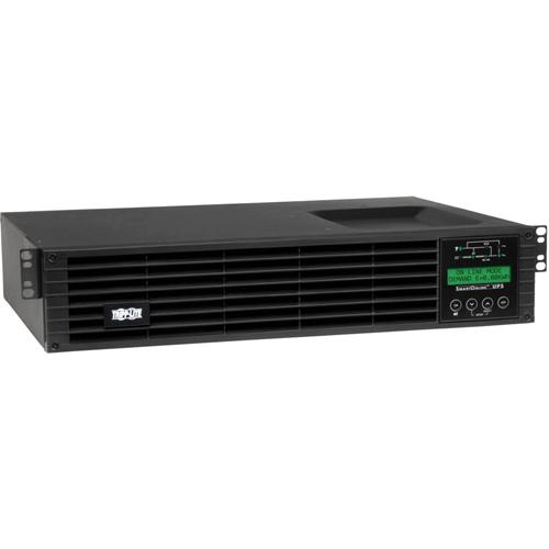 Tripp Lite UPS Smart Online 1000VA 900W Rackmount 120V Extended Run LCD USB DB9 2URM