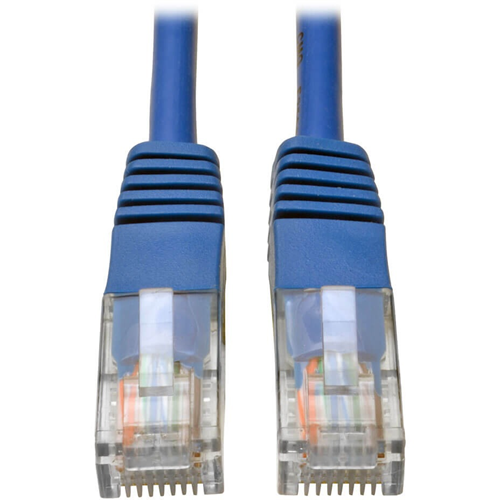 50' BLUE SNAGLESS CAT5E CABLE