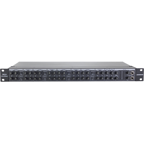 10 CHANNEL RACKMOUNT MIXER