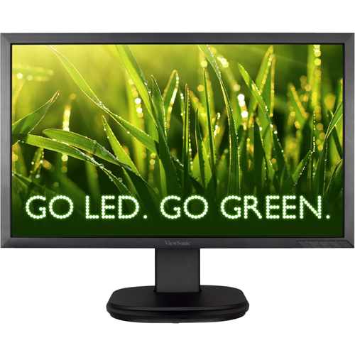 "22"" (21.5"" Vis) Wide LED backlit monitor with 1920x1080 resolution, 90 pivot,  height adjust, swivel and tilt functions, integrated stereo speakers, Displayport, DVI and VGA inputs and VESA mountable design"